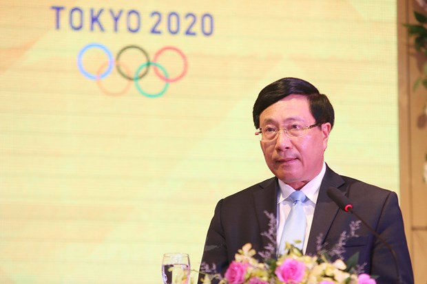 Doan the thao Viet Nam san sang cho muc tieu lon tai Olympic Tokyo hinh anh 1