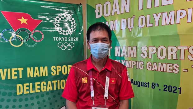 Olympic Tokyo: Doan the thao Viet Nam chu dong phong dich COVID-19 hinh anh 1