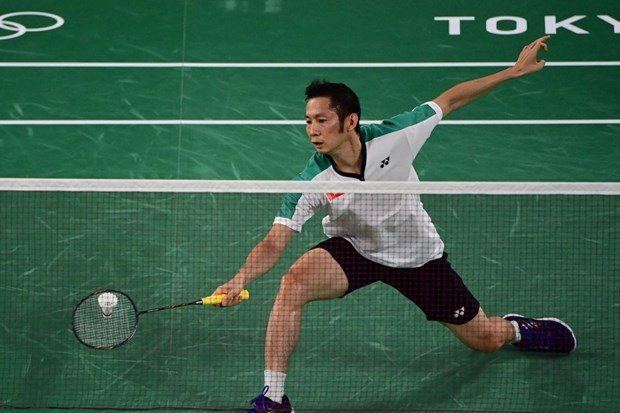 Olympic Tokyo 2020: Nguyen Tien Minh thua tay vot so 3 the gioi hinh anh 1