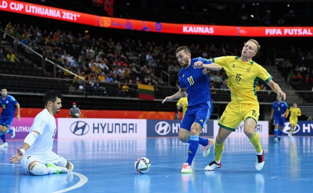 Xac dinh hai doi dau tien vao vong 1/8 FIFA Futsal World Cup 2021 hinh anh 1