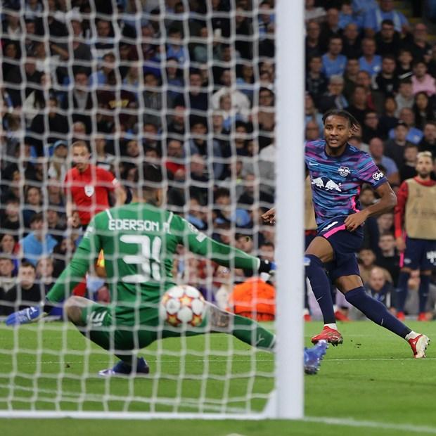 Man City thang tung bung RB Leipzig sau 'con mua ban thang' tai Etihad hinh anh 1