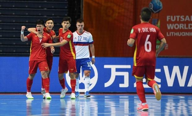 Tuyen futsal Viet Nam noi gi khi phai dung buoc o Futsal World Cup? hinh anh 1