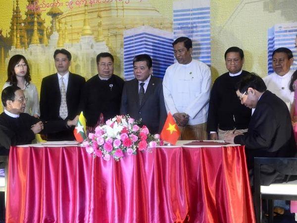 BIDV cung cap khoan tin dung 30 trieu USD cho doi tac Myanmar hinh anh 1