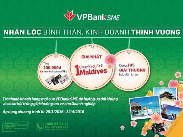 Doanh nghiep co co hoi du lich Maldives khi vay von tai VPBank hinh anh 1