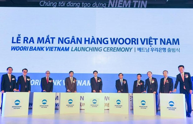 Ra mat ngan hang Woori Bank 100% von cua Han Quoc tai Viet Nam hinh anh 1