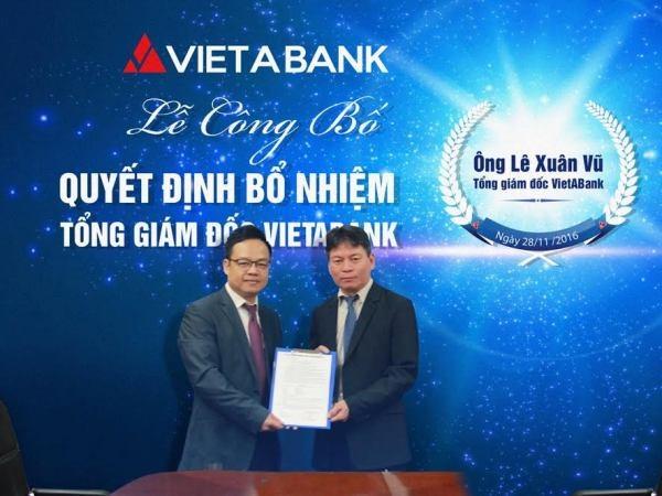 Ong Le Xuan Vu duoc bo nhiem lam Tong Giam doc VietABank hinh anh 1