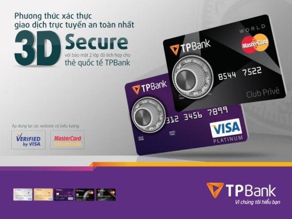TPBank ap dung phuong thuc xac thuc 3D secure cho chu the hinh anh 1