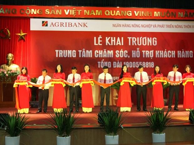Agribank khai truong Trung tam Cham soc, ho tro khach hang hinh anh 1