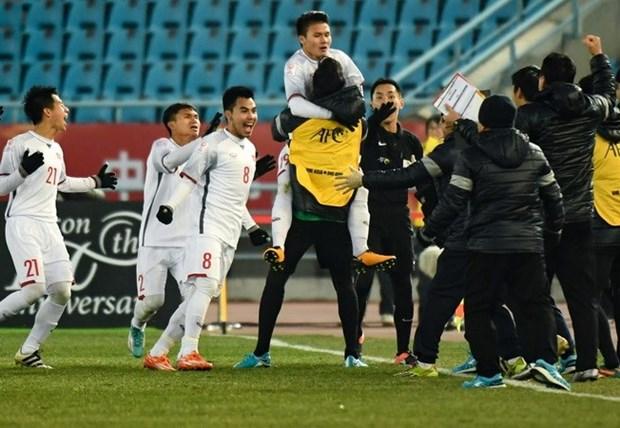 3 ngan hang tang thuong 2,5 ty dong cho doi tuyen U23 Viet Nam hinh anh 1