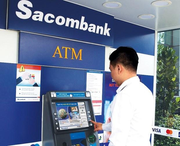 Khach hang nhan kieu hoi mien phi tai cac cay ATM cua Sacombank hinh anh 1