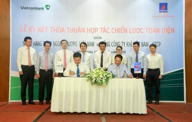 Vietcombank tai tro 4.000 ty dong von ngan han cho PV GAS hinh anh 1
