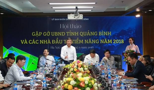 Neu 48 du an, Quang Binh keu goi so von dau tu 50.000 ty dong hinh anh 1