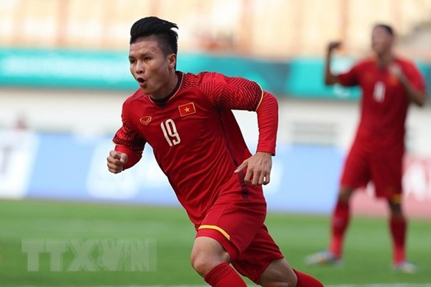 Tuyen thu Quang Hai tham gia le don cup Ngoai hang Anh tai Ha Noi hinh anh 1