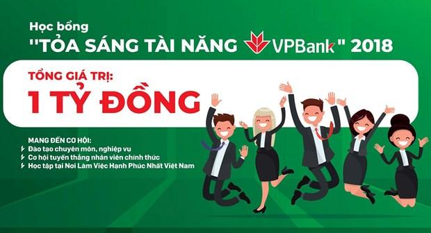 Ra mat quy hoc bong tai nang VPBank cho sinh vien ke, tai chinh hinh anh 1