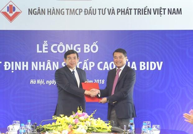 Ong Phan Duc Tu duoc bau lam Chu tich Hoi dong quan tri BIDV hinh anh 1
