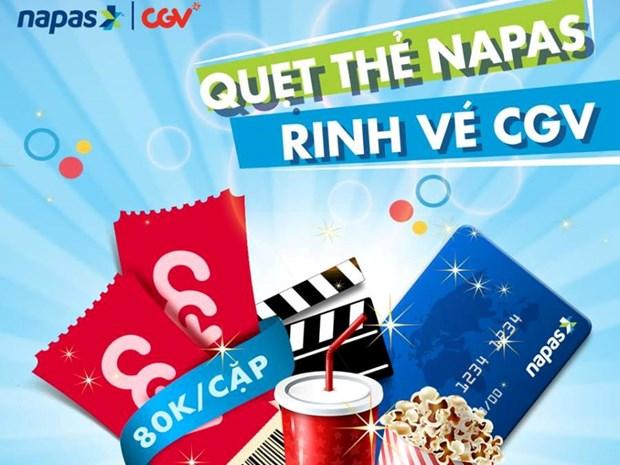 Mua 2 ve xem phim 2D chi 80.000 dong tai CGV bang the NAPAS hinh anh 1
