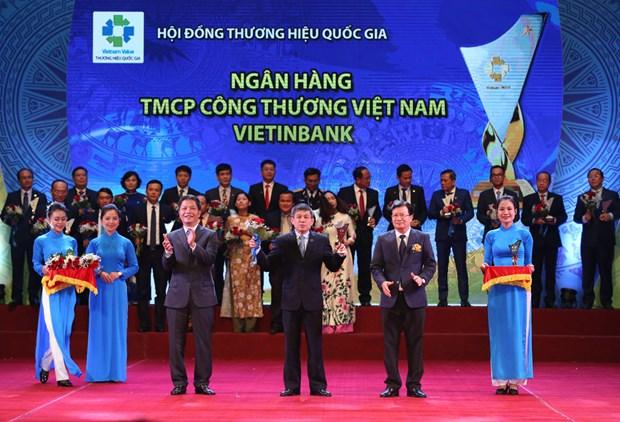 VietinBank lan thu 5 lien tiep dat giai Thuong hieu quoc gia hinh anh 1