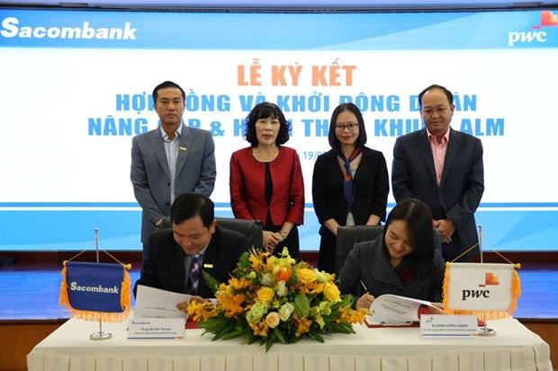 Sacombank va PwC khoi dong du an nang cap khung quan ly tai san no hinh anh 1