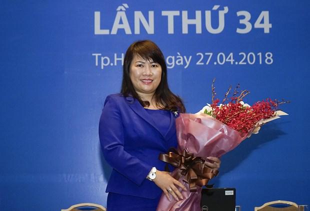 Ba Luong Thi Cam Tu duoc bau lam Chu tich Hoi dong quan tri Eximbank hinh anh 1
