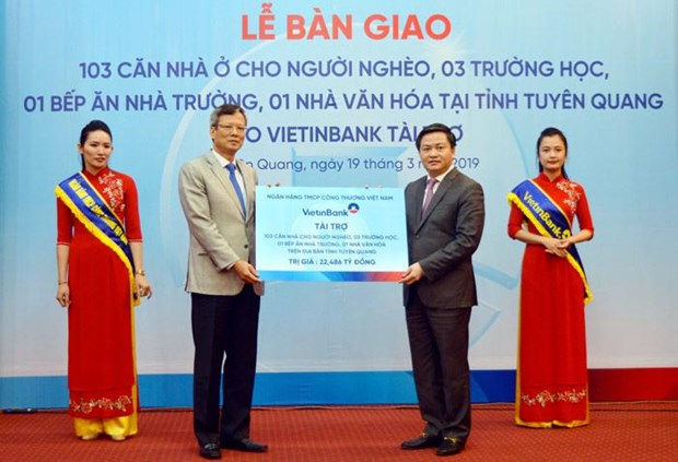 VietinBank tai tro hon 22 ty dong an sinh xa hoi tai Tuyen Quang hinh anh 1