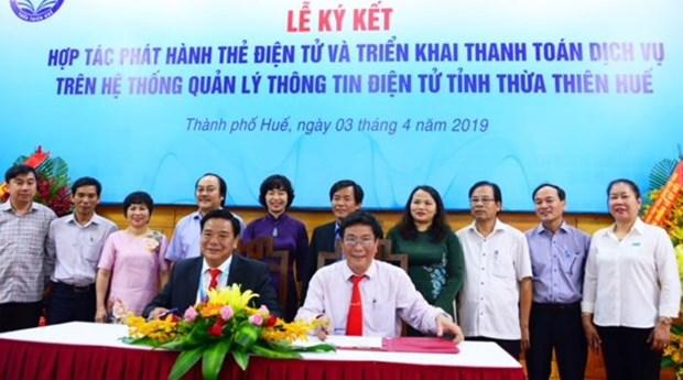 Vietinbank trien khai thanh toan tren he thong the dien tu cua Hue hinh anh 1