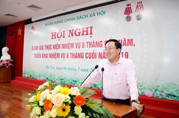 Tong du no Ngan hang Chinh sach dat 198.505 ty dong trong 6 thang hinh anh 1