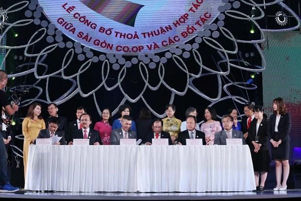 HDBank cung cap von luu dong cho Saigon Co.op mo rong mang luoi hinh anh 1