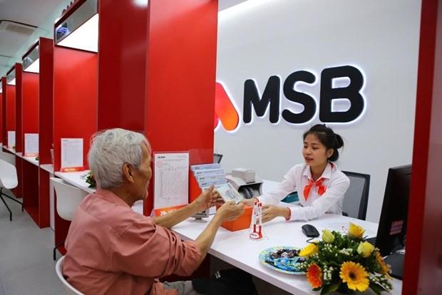 Loi nhuan truoc thue cua MSB dat 567 ty dong, tang 192% hinh anh 1