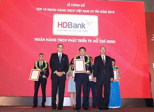 HDBank lot top 6 ngan hang thuong mai tu nhan uy tin nhat nam 2019 hinh anh 1