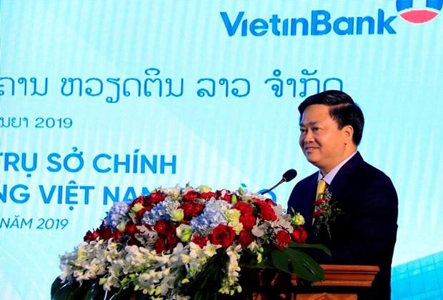 Thong doc: VietinBank Lao phan dau thanh ngan hang hien dai, da nang hinh anh 2