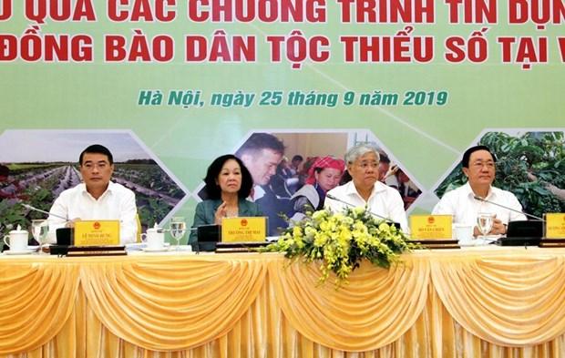 Von tin dung chinh sach: Thay doi nhan thuc dong bao dan toc thieu so hinh anh 1