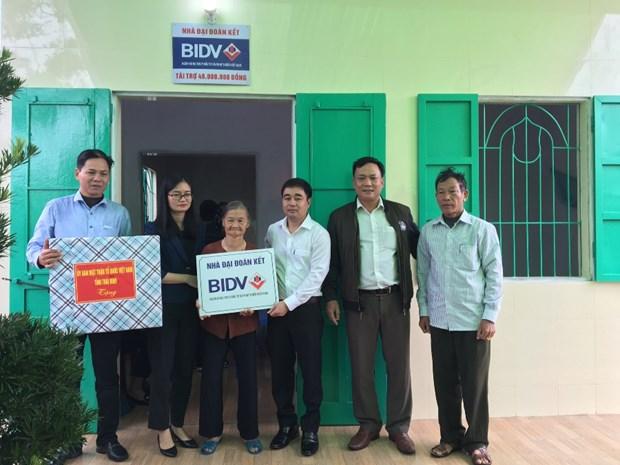 BIDV trao tang nha o cho nguoi ngheo tai tinh Thai Binh hinh anh 1