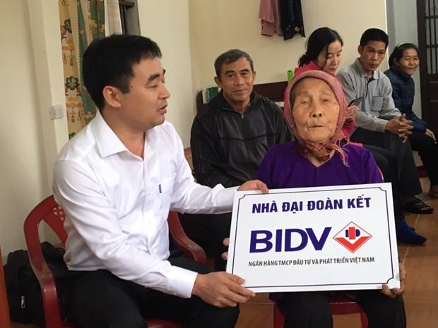 BIDV trao tang nha o cho nguoi ngheo tai tinh Thai Binh hinh anh 2