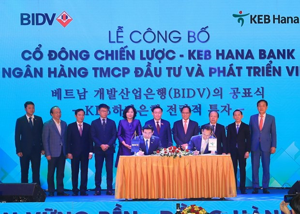 Ngan hang BIDV chinh thuc co co dong chien luoc nuoc ngoai dau tien hinh anh 1