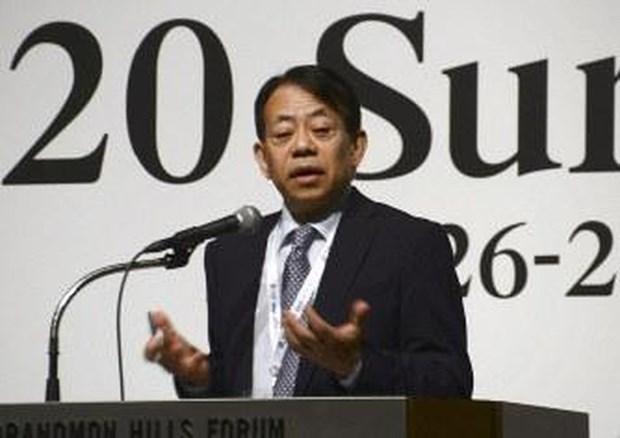 Ong Masatsugu Asakawa duoc bau lam Chu tich Ngan hang ADB hinh anh 1