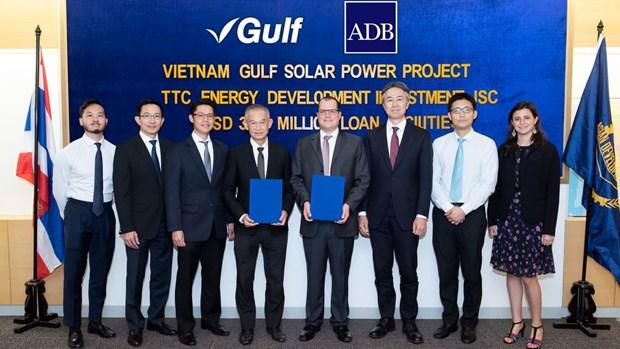 ADB, Leading Asia cho TTC vay 37,8 trieu USD xay nha may dien Mat Troi hinh anh 1