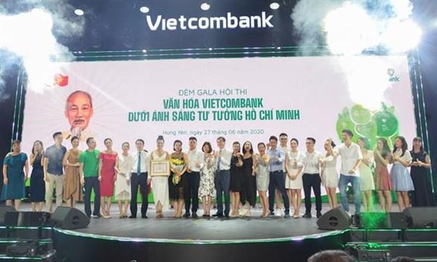 Hoi thi 'Van hoa Vietcombank duoi anh sang tu tuong Ho Chi Minh' hinh anh 1