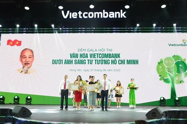 Hoi thi 'Van hoa Vietcombank duoi anh sang tu tuong Ho Chi Minh' hinh anh 2