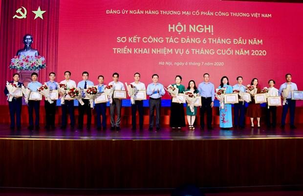 Dang bo VietinBank tap trung 4 nhiem vu trong tam thuc day kinh doanh hinh anh 1