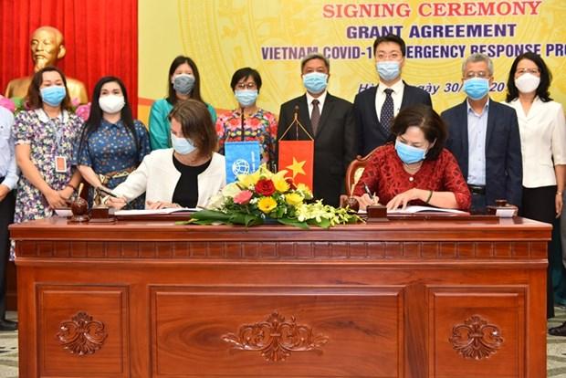 WB vien tro khong hoan lai 6,2 trieu USD cho Viet Nam ung pho COVID-19 hinh anh 1