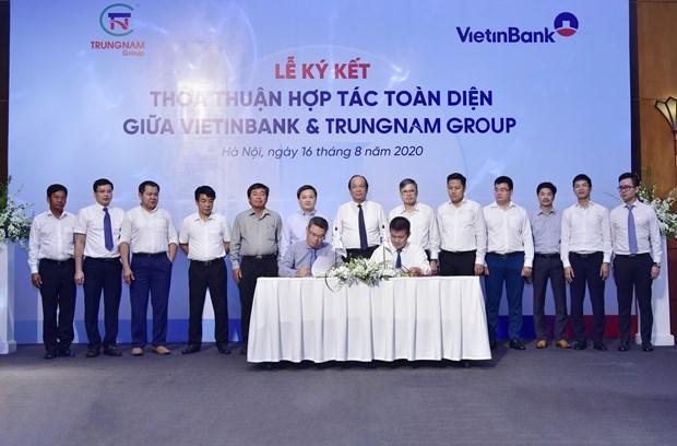 VietinBank va Trung Nam Group ky ket thoa thuan hop tac toan dien hinh anh 1