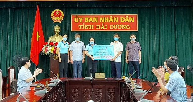 VietinBank ung ho Hai Duong 5 ty dong phong chong COVID-19 hinh anh 1