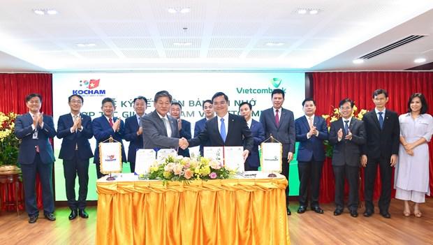 Vietcombank cung cap dich vu tai chinh cho cac doanh nghiep Han Quoc hinh anh 1