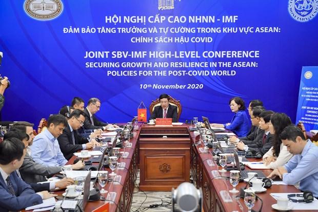 Tim giai phap phuc hoi tang truong kinh te khu vuc ASEAN hau COVID hinh anh 1