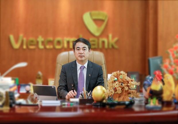 Chu tich Vietcombank: Se dong hanh cung khach hang vuot qua dai dich hinh anh 1