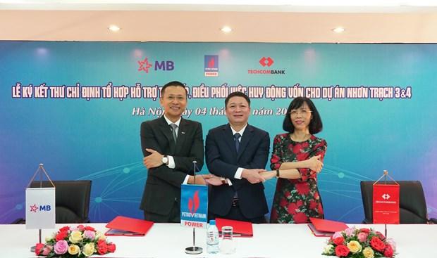 Techcombank va MB thu xep 1,4 ty USD cho du an dien khi cua PVPower hinh anh 1