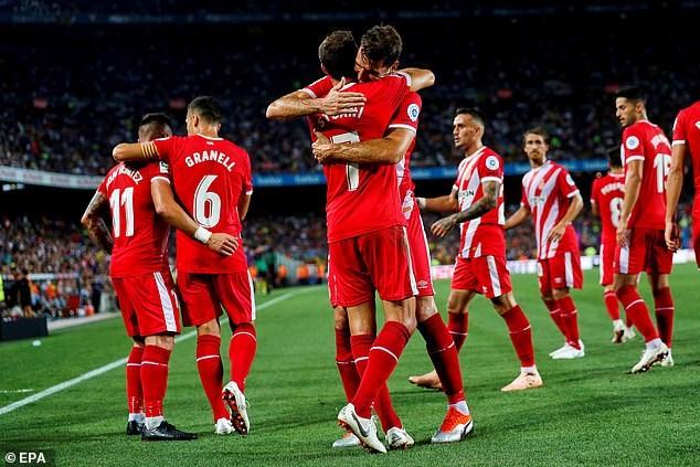 Girona gây sốc trước Barcelona ngay tại thánh địa Nou Camp - ảnh 4