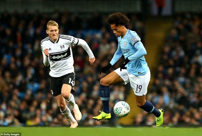 Manchester City thẳng tiến Cúp Liên đoàn Anh bằng đội hình 2 - 2