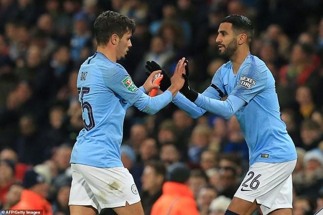 Manchester City thẳng tiến Cúp Liên đoàn Anh bằng đội hình 2 - 5