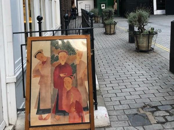 Triển lãm tranh của các họa sỹ lừng danh Việt Nam tại London